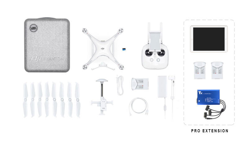 PPK drone package content